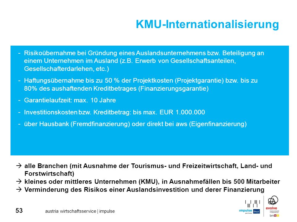 KMU-Internationalisierung