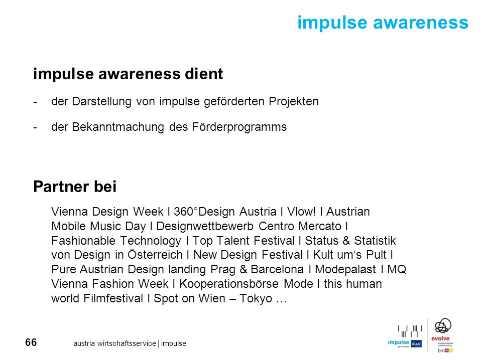 impulse awareness impulse awareness dient Partner bei