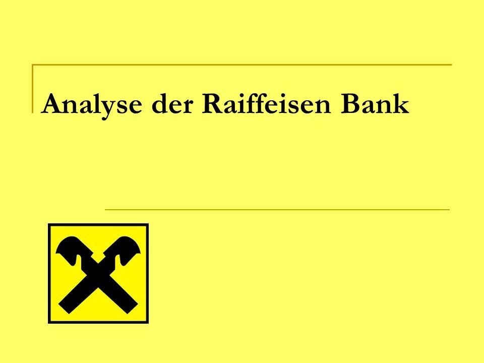 Analyse der Raiffeisen Bank