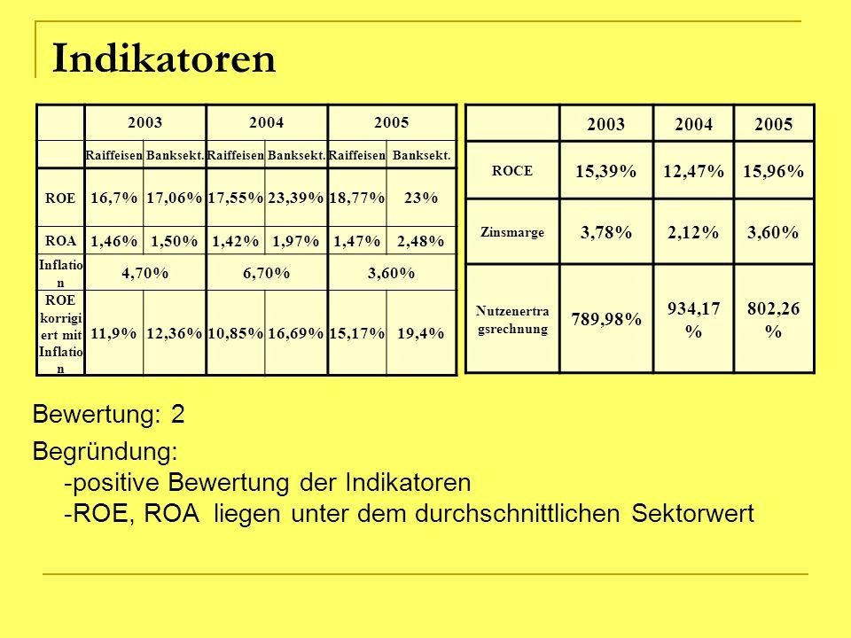 ROE korrigiert mit Inflation Nutzenertragsrechnung