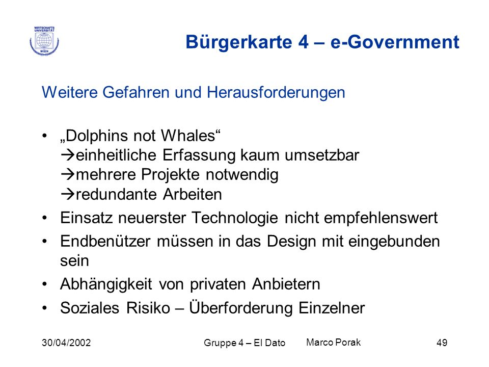 Bürgerkarte 4 – e-Government