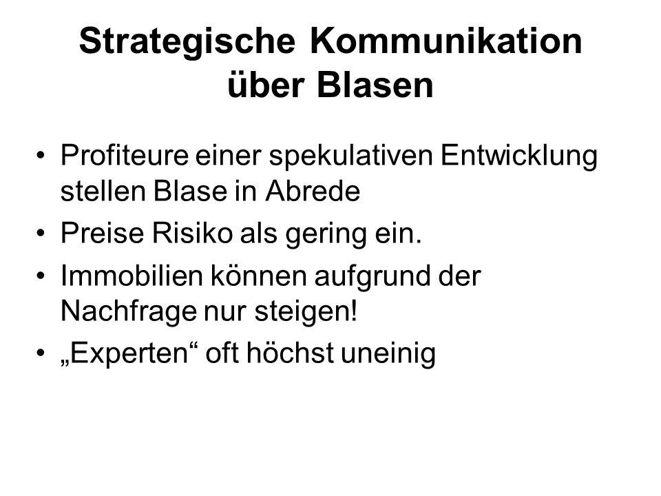 Strategische Kommunikation über Blasen