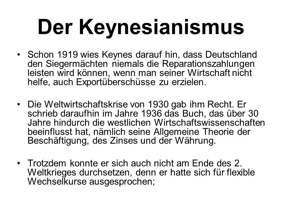 Der Keynesianismus