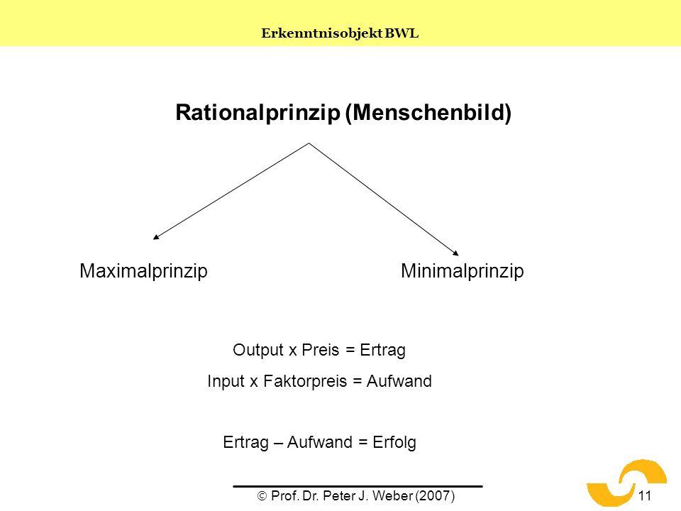 Rationalprinzip (Menschenbild)