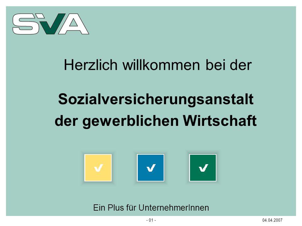 Sozialversicherungsanstalt der gewerblichen Wirtschaft