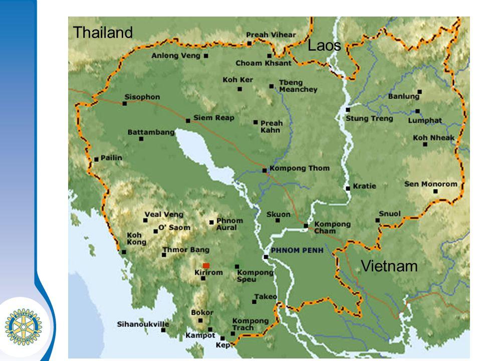 Thailand Laos Vietnam