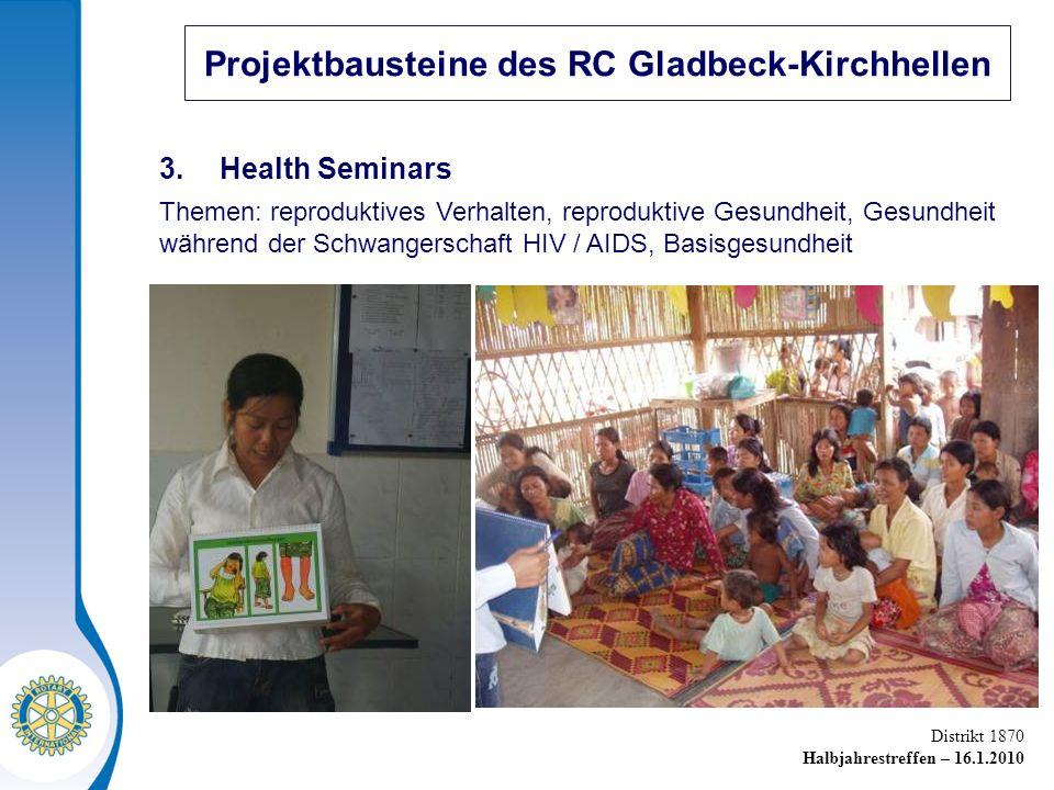 Projektbausteine des RC Gladbeck-Kirchhellen
