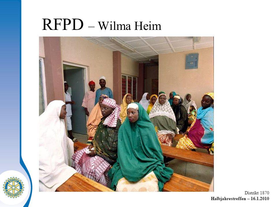 RFPD – Wilma Heim