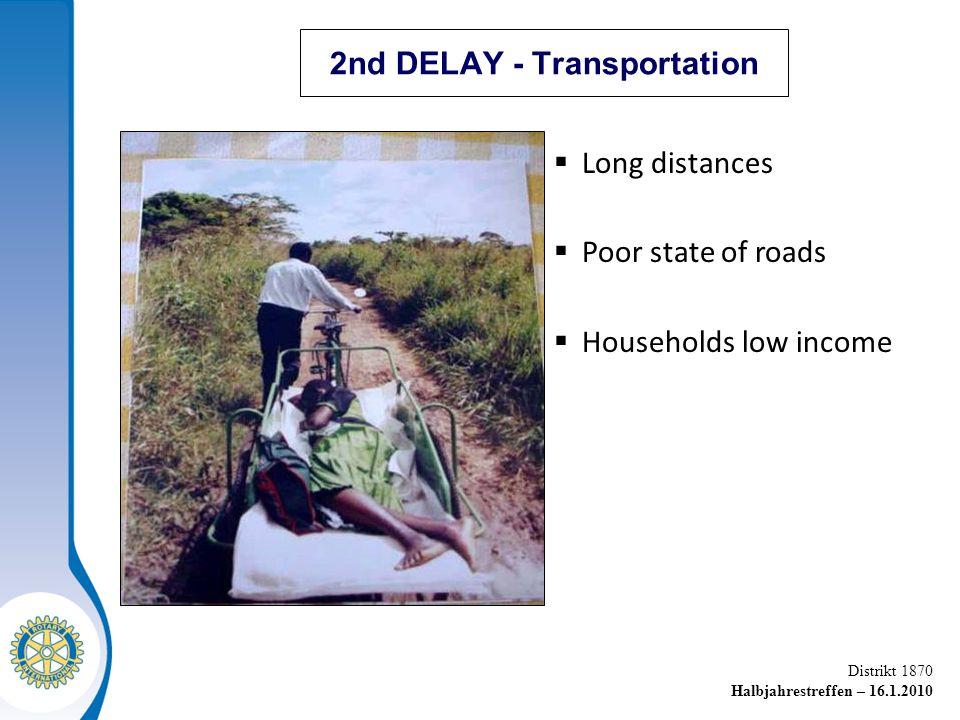 2nd DELAY - Transportation