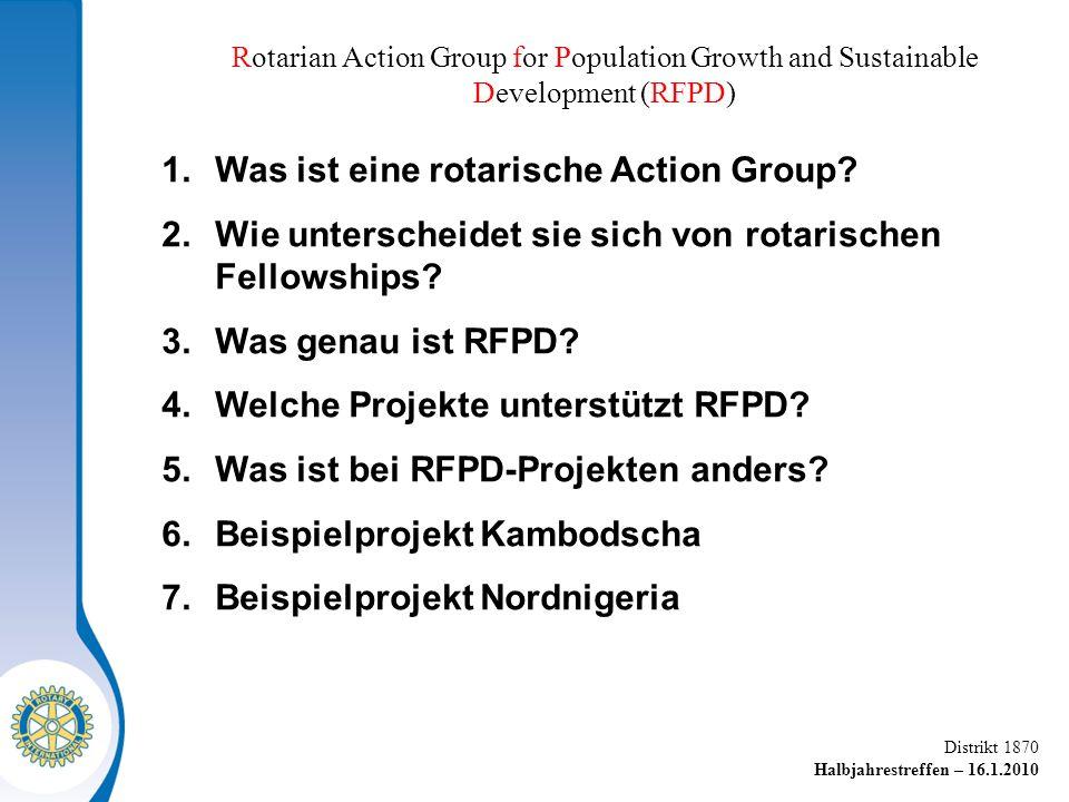 Was ist eine rotarische Action Group