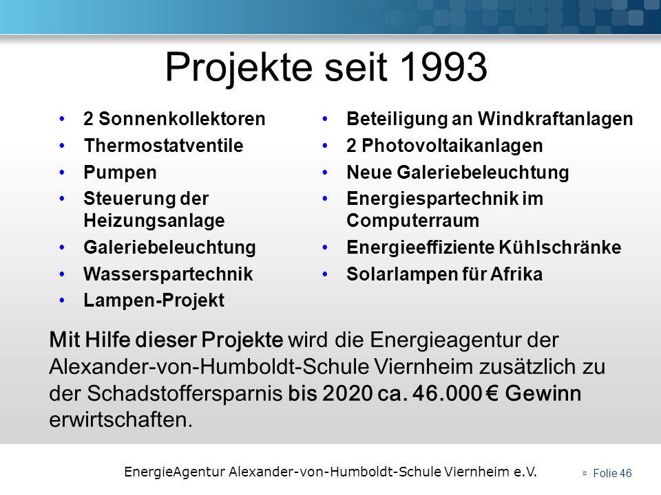 Projekte seit 19932 Sonnenkollektoren. Thermostatventile. Pumpen. Steuerung der Heizungsanlage. Galeriebeleuchtung.