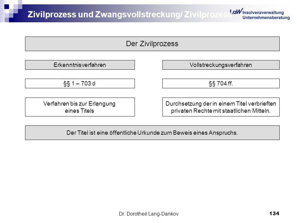 Zivilprozess und Zwangsvollstreckung/ Zivilprozess