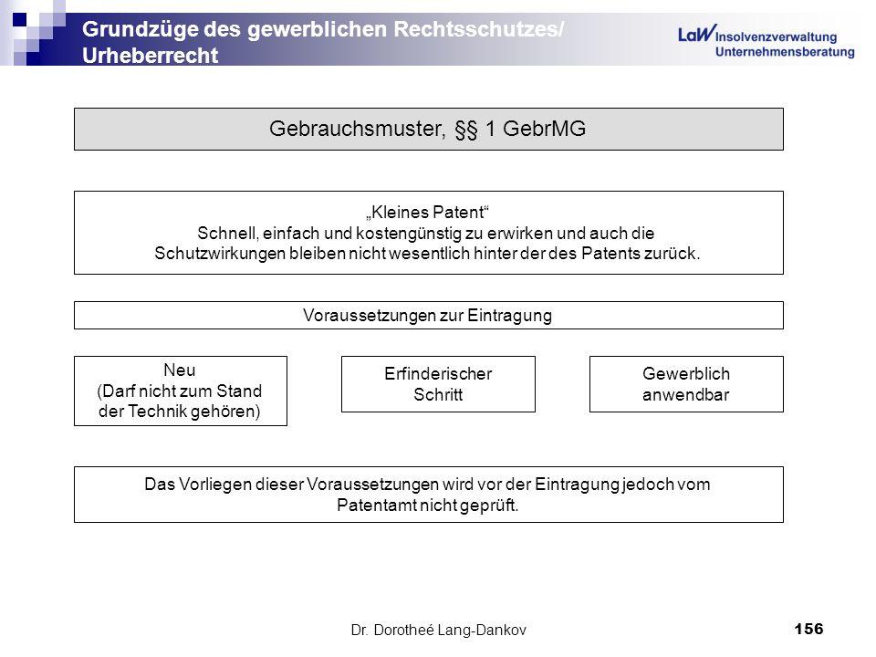 Grundzüge des gewerblichen Rechtsschutzes/ Urheberrecht