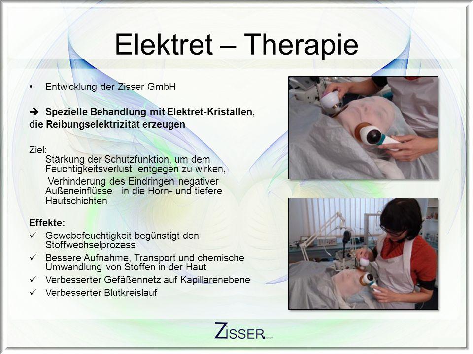 Elektret – Therapie Entwicklung der Zisser GmbH
