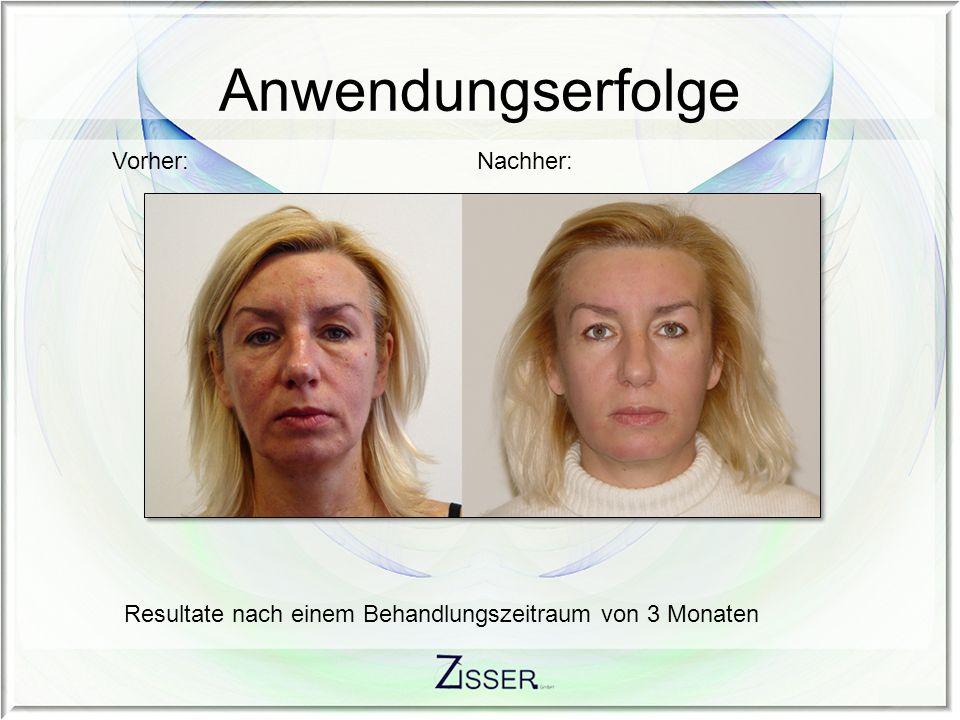 Resultate nach einem Behandlungszeitraum von 3 Monaten