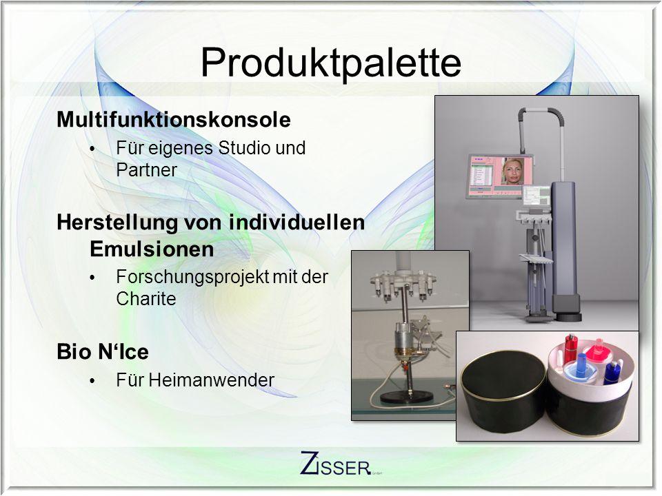 Produktpalette Multifunktionskonsole