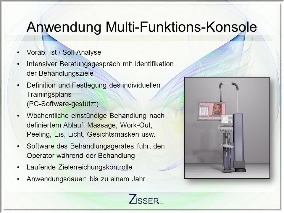 Anwendung Multi-Funktions-Konsole