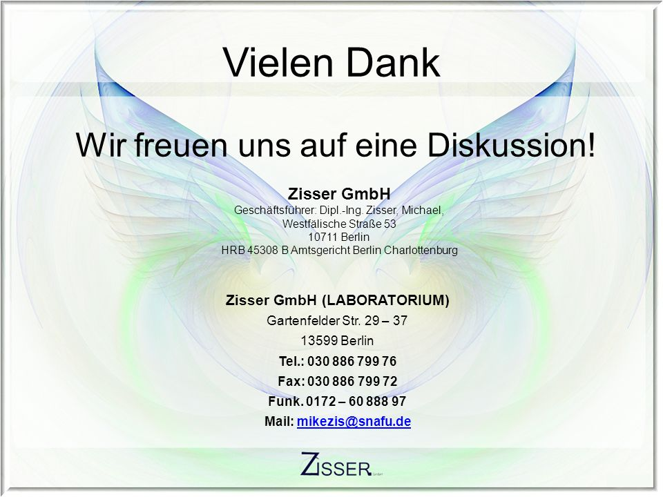 Zisser GmbH (LABORATORIUM) Mail:
