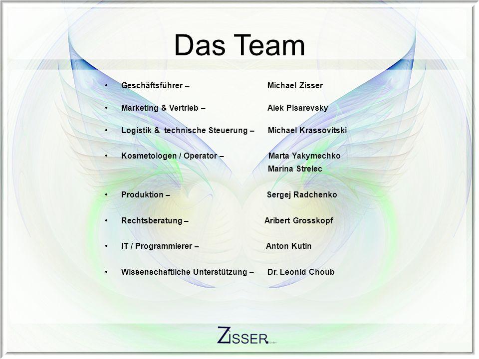 Das Team Geschäftsführer – Michael Zisser