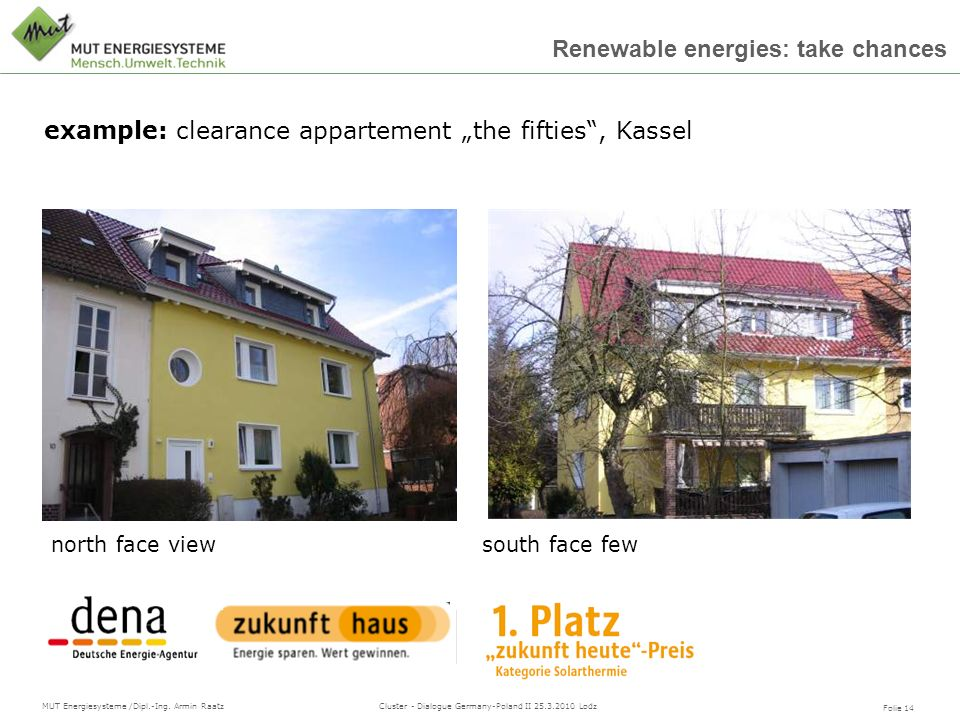 "example: clearance appartement ""the fifties , Kassel"