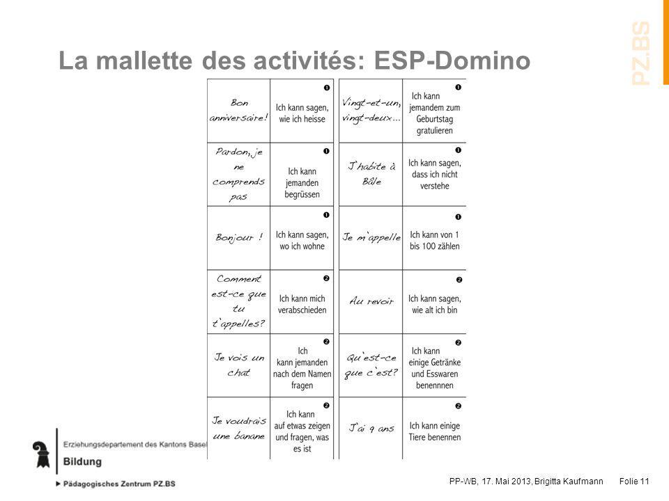 La mallette des activités: ESP-Domino