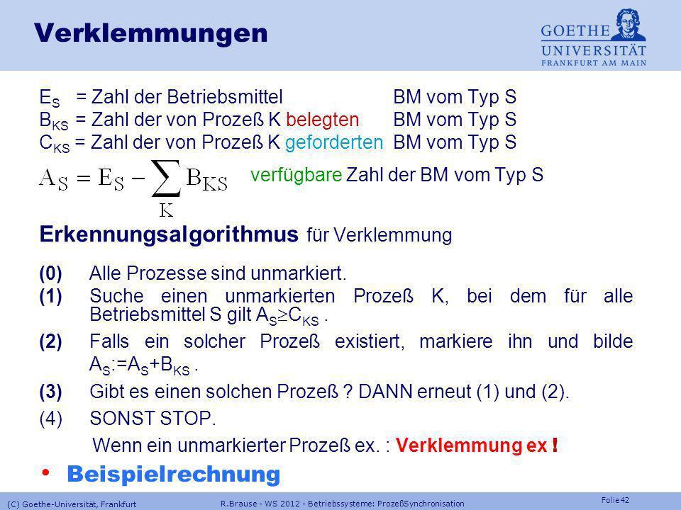 verfügbare Zahl der BM vom Typ S