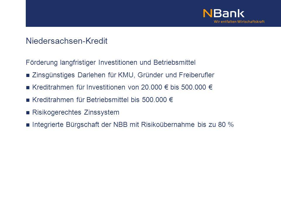 Niedersachsen-Kredit