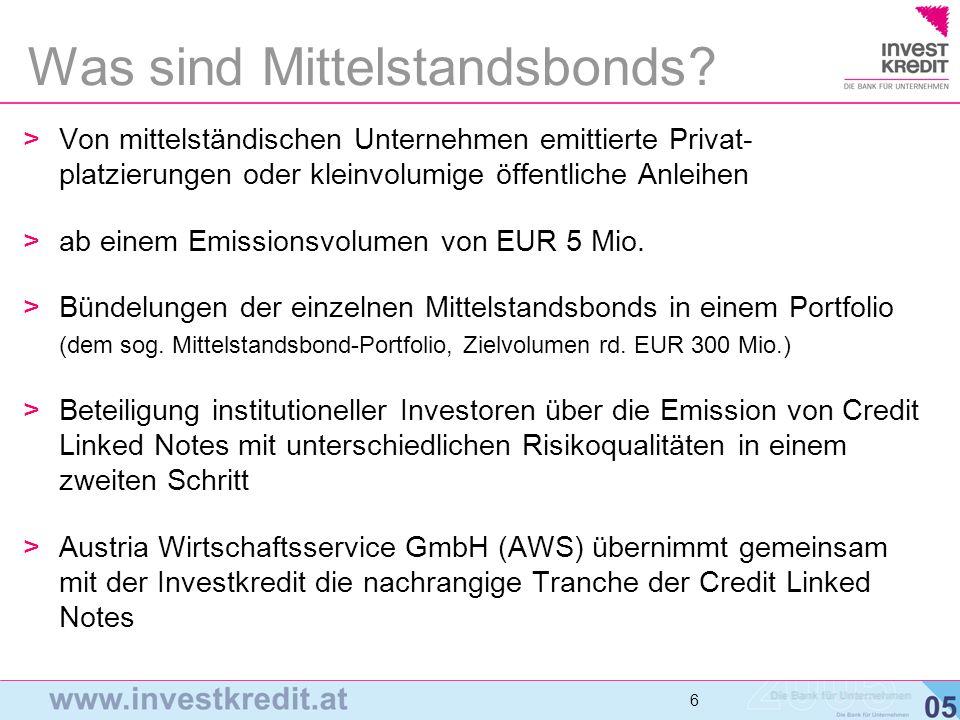 Was sind Mittelstandsbonds
