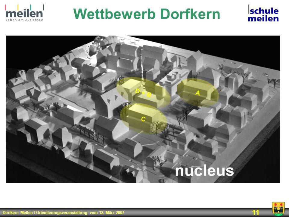 Wettbewerb Dorfkern D + B A C nucleus 2002