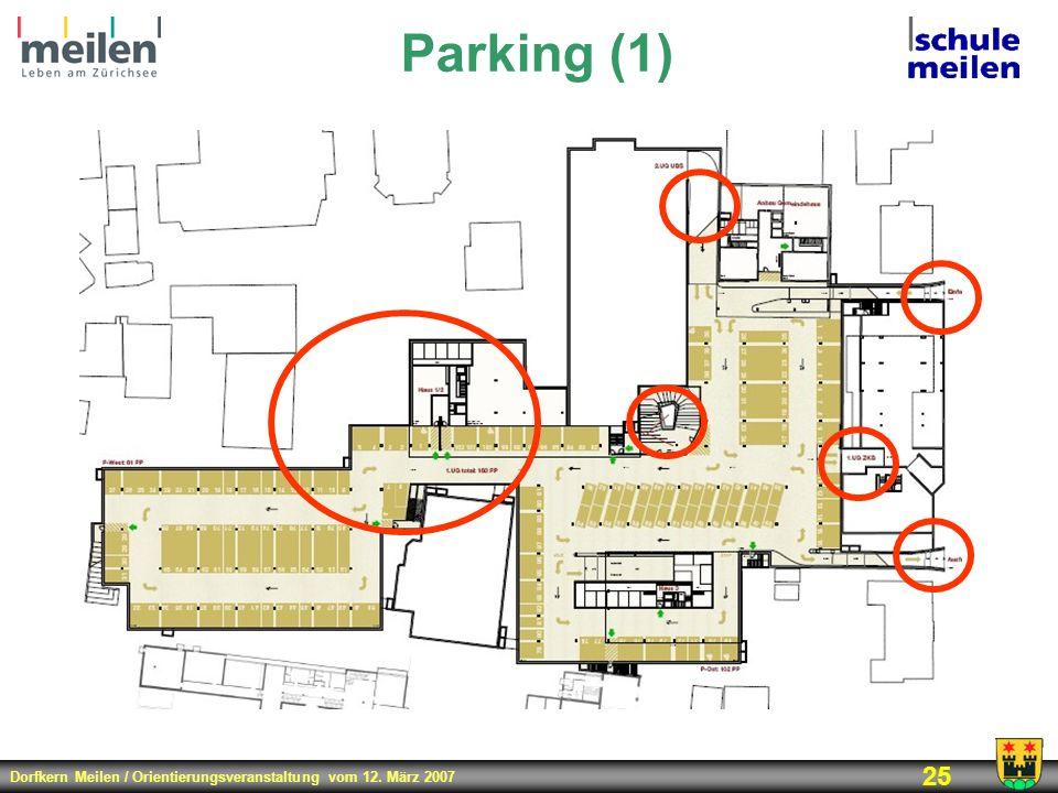 Parking (1) 300 Parkplätze Ost 2-geschossig