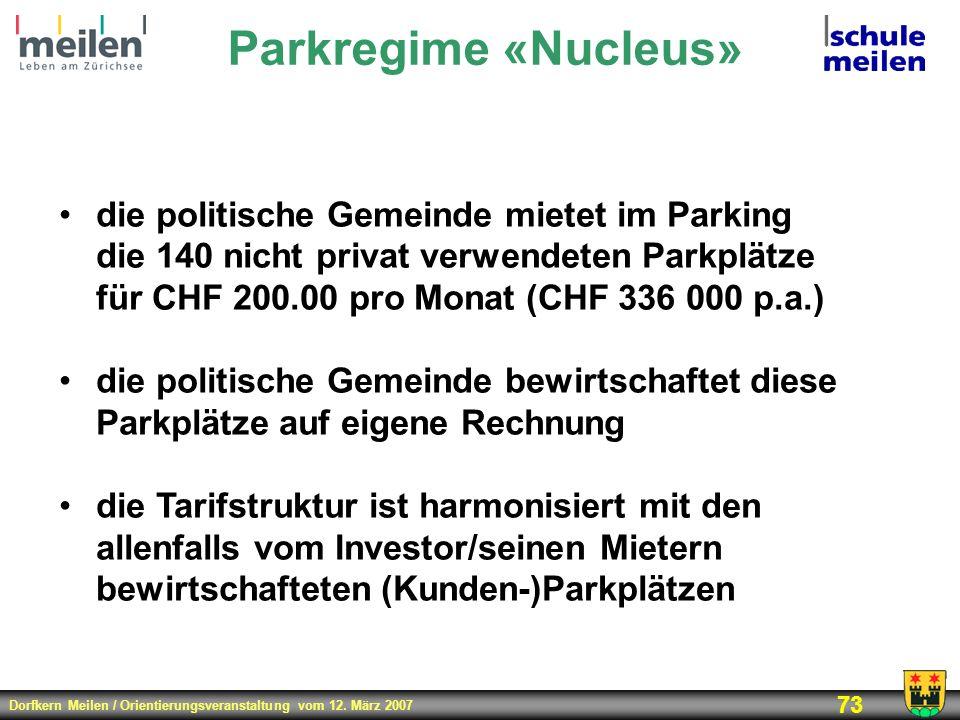 Parkregime «Nucleus»