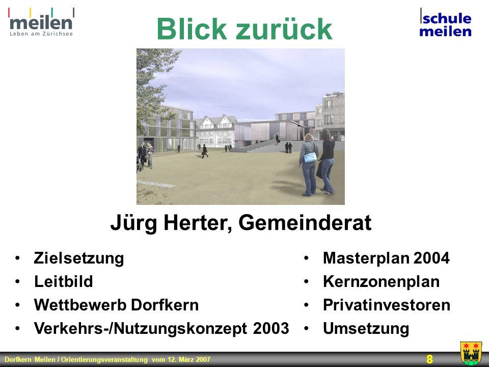 Jürg Herter, Gemeinderat
