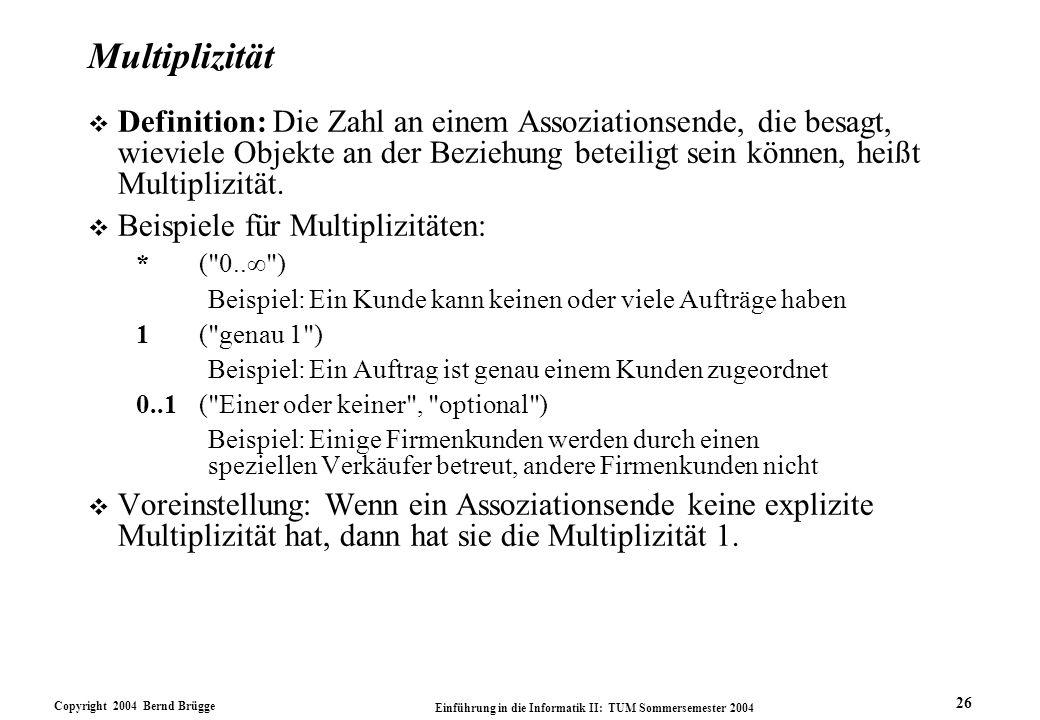 Multiplizität