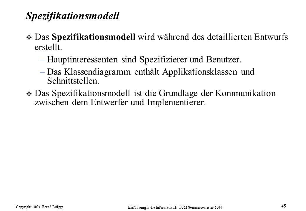 Spezifikationsmodell