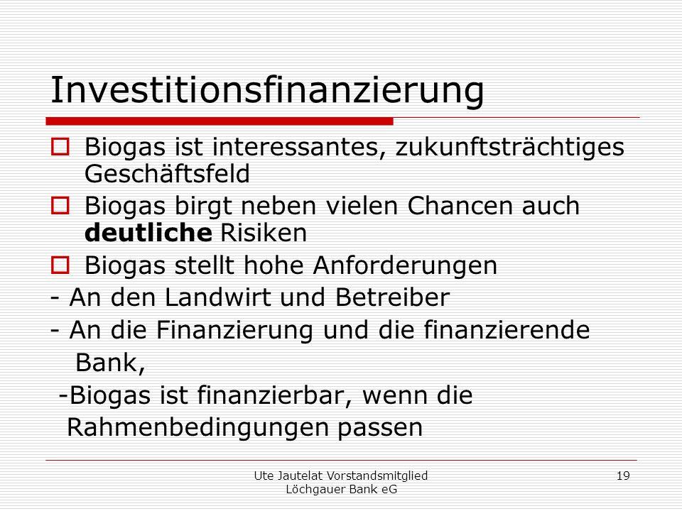 Investitionsfinanzierung