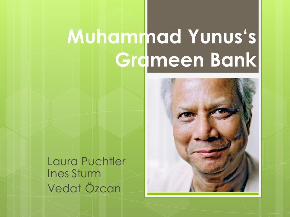 Muhammad Yunus's Grameen Bank