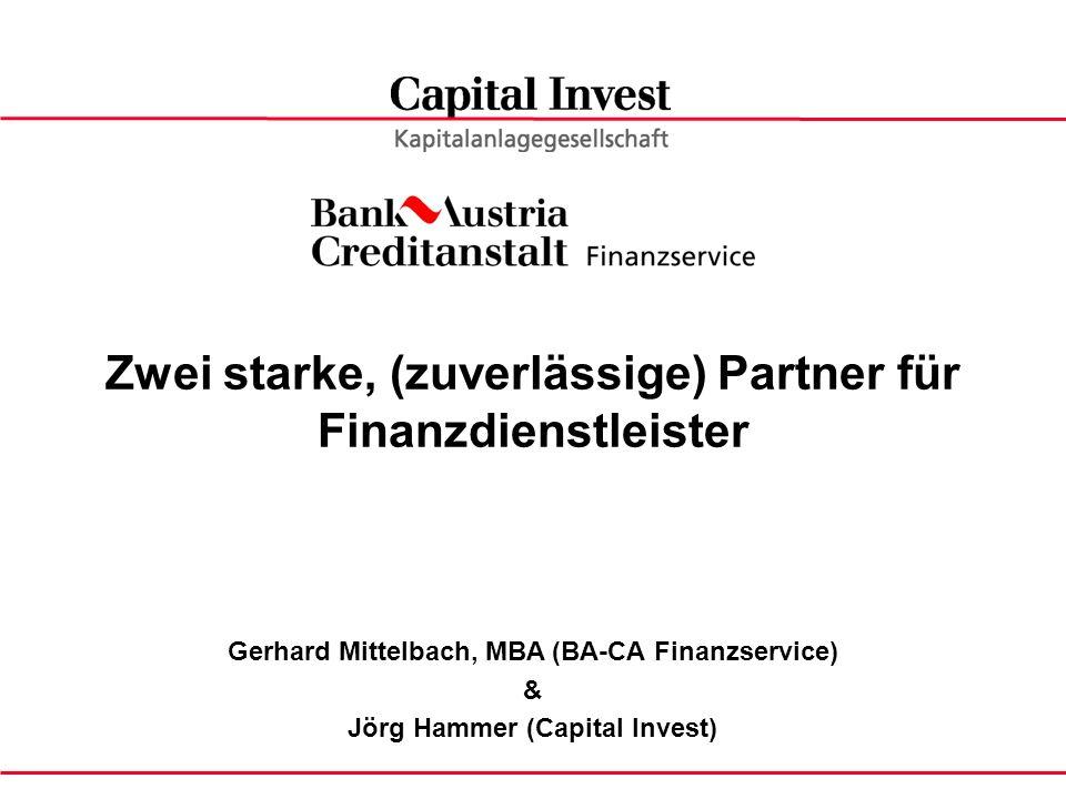 Zwei starke, (zuverlässige) Partner für Finanzdienstleister