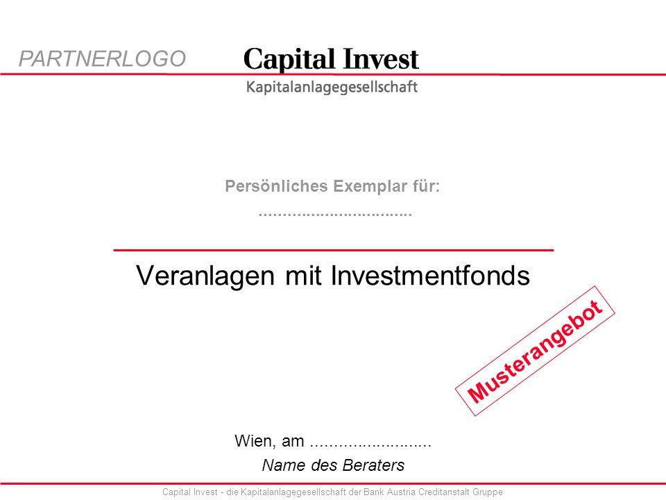 Veranlagen mit Investmentfonds