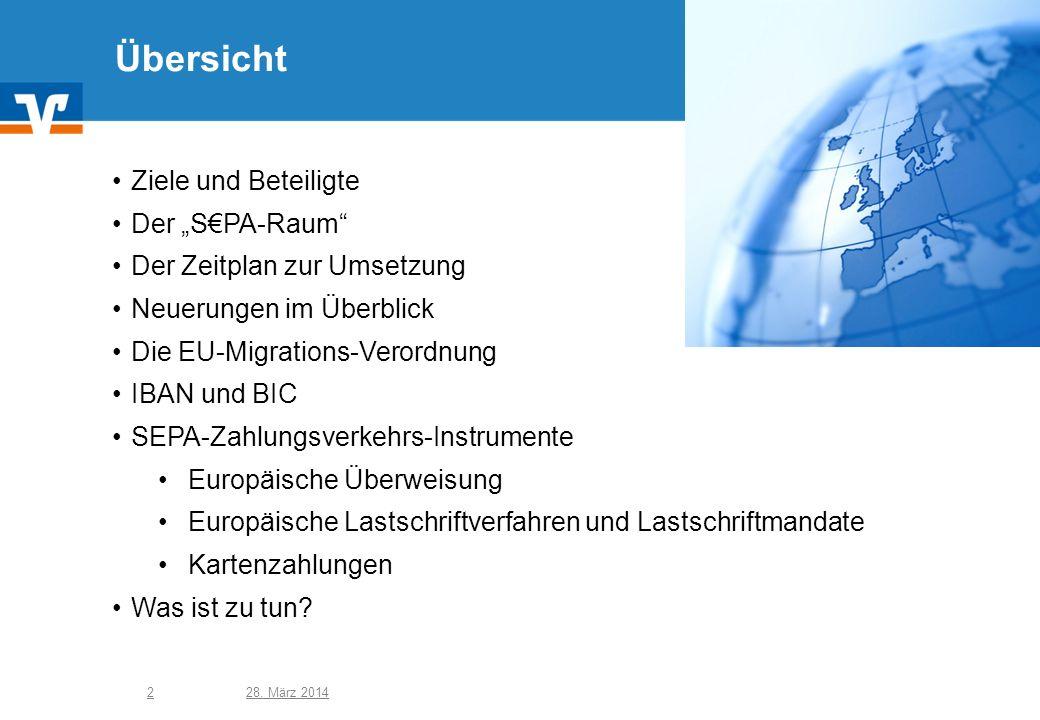 """Übersicht Ziele und Beteiligte Der """"S€PA-Raum"""