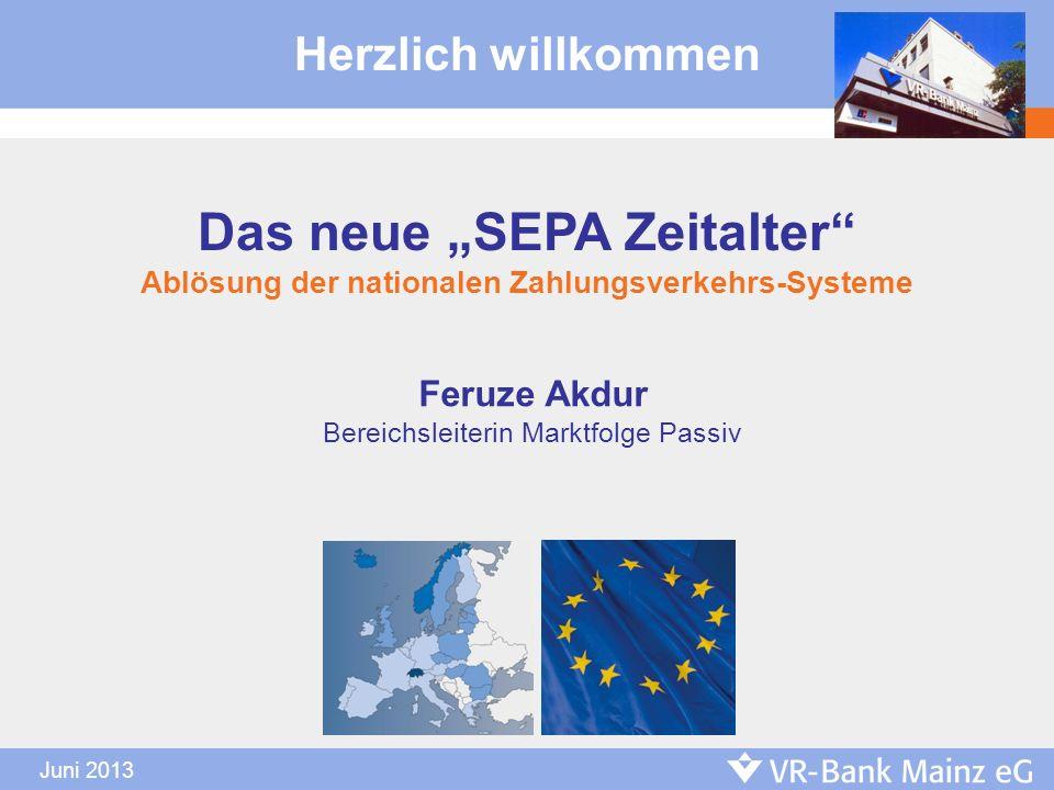 "Das neue ""SEPA Zeitalter"