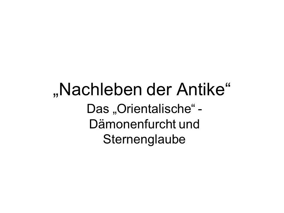 """""""Nachleben der Antike"""