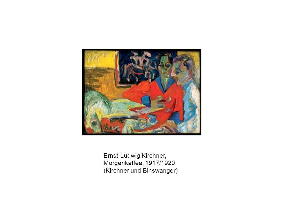 Ernst-Ludwig Kirchner, Morgenkaffee, 1917/1920 (Kirchner und Binswanger)