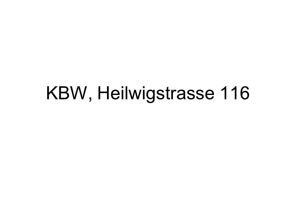 KBW, Heilwigstrasse 116