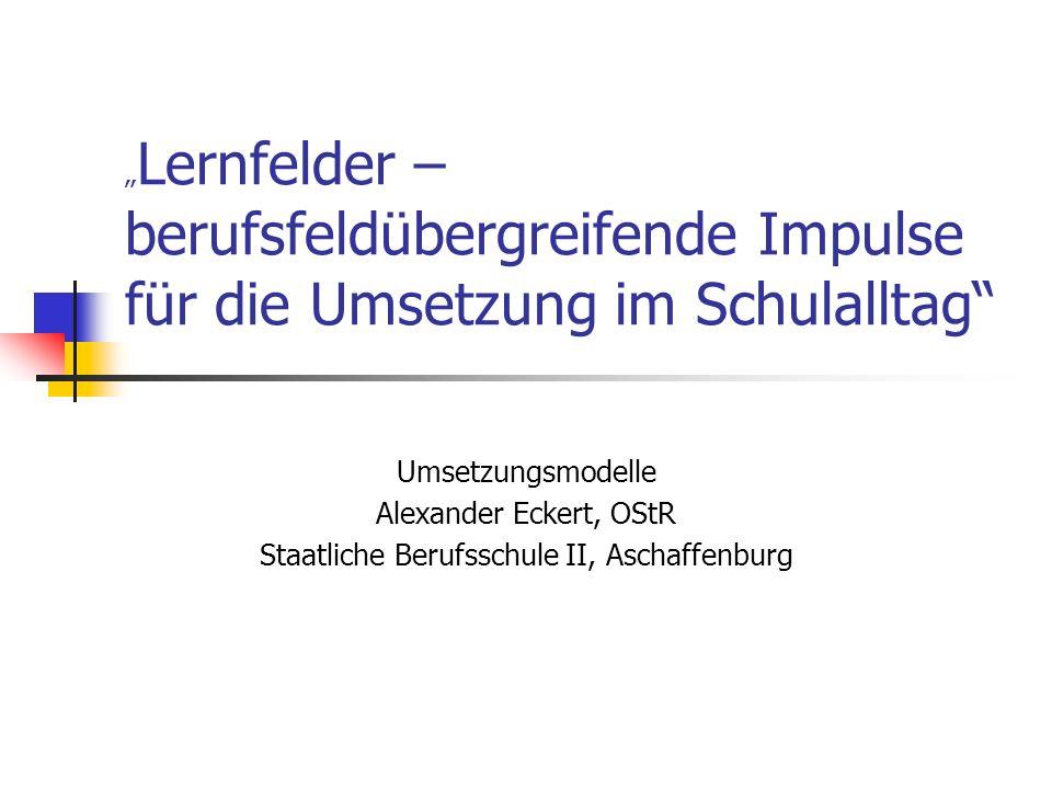 Staatliche Berufsschule II, Aschaffenburg