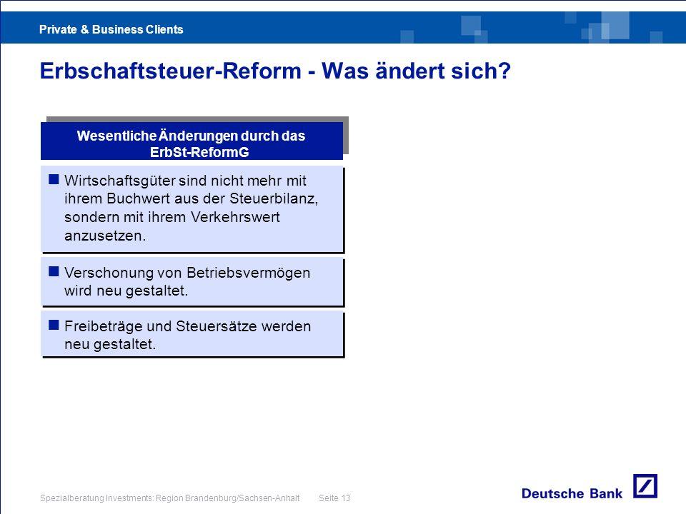Erbschaftsteuer-Reform - Was ändert sich