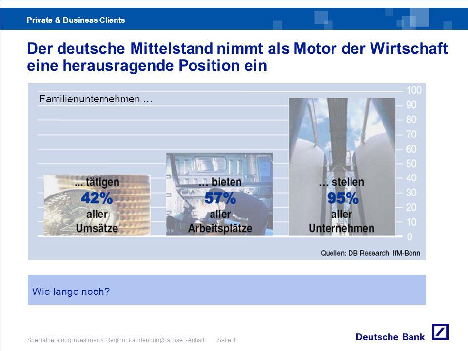 Der deutsche Mittelstand nimmt als Motor der Wirtschaft eine herausragende Position ein