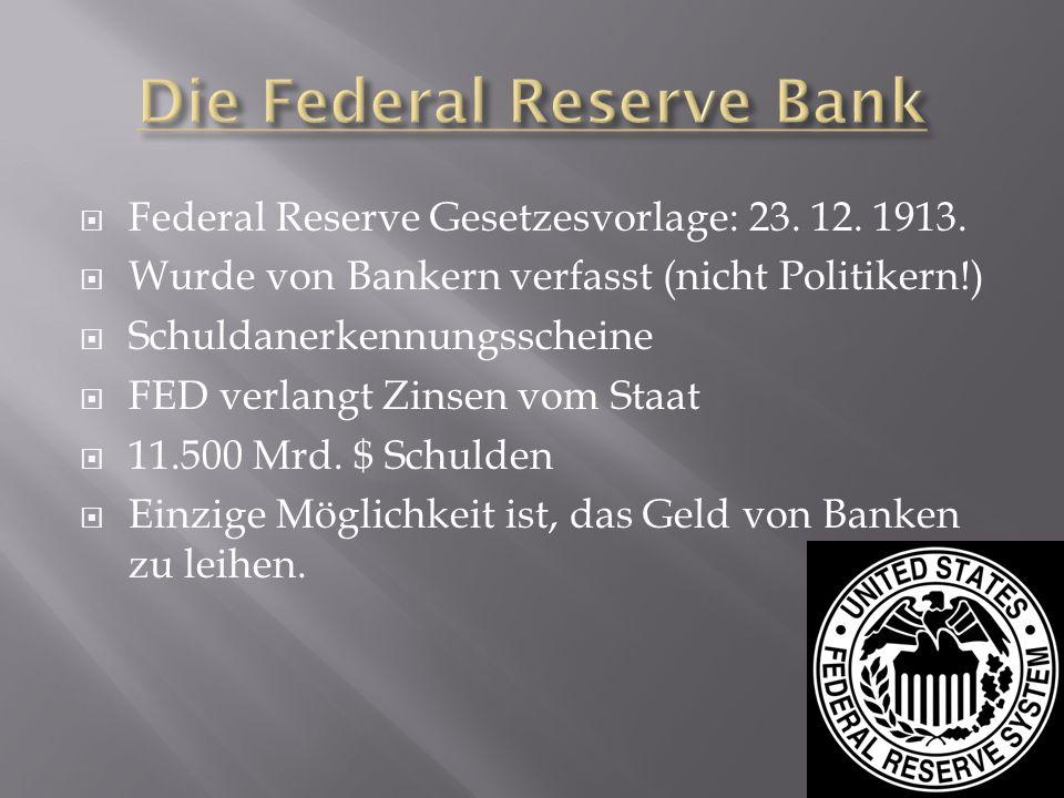 Die Federal Reserve Bank