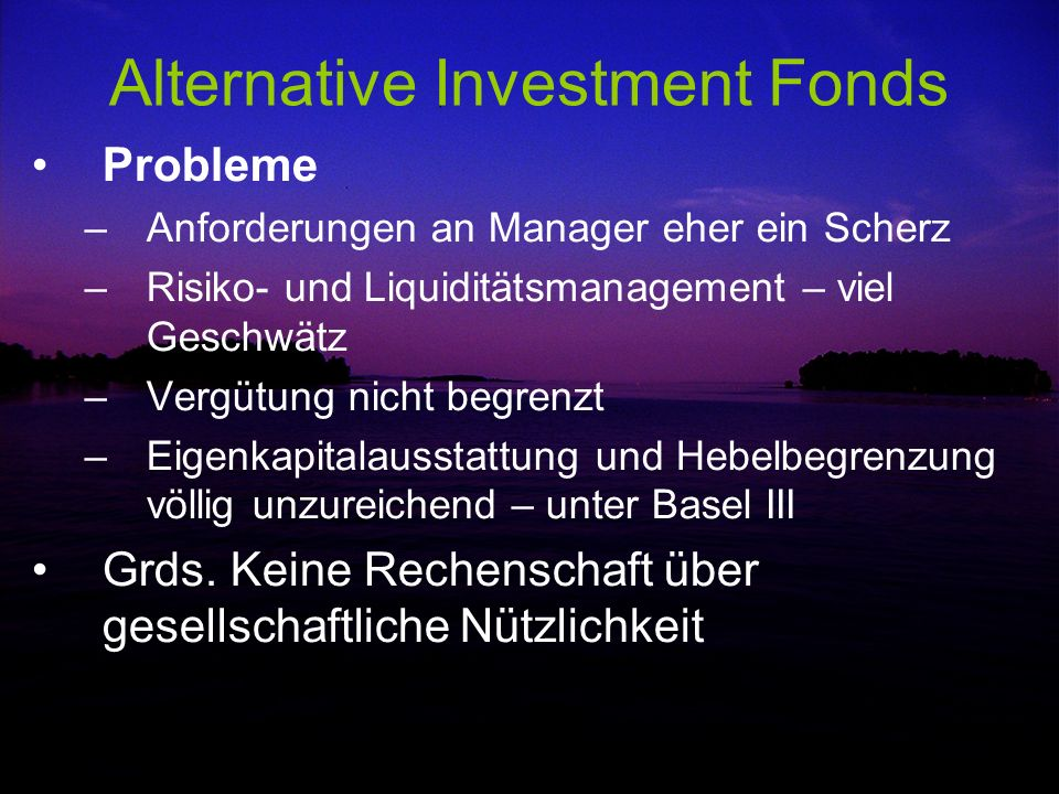 Alternative Investment Fonds