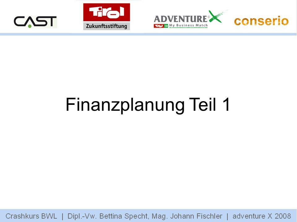 Finanzplanung Teil 1