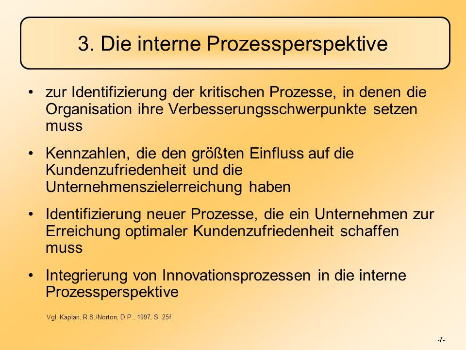 3. Die interne Prozessperspektive